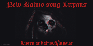 Kalmo has released a new doom metal song Lupaus