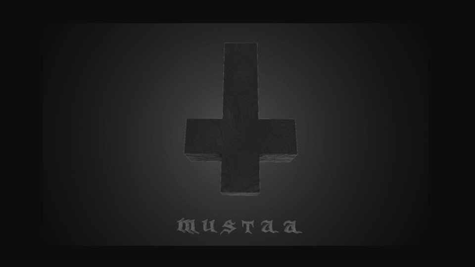 Kalmo doom metal music video Mustaa